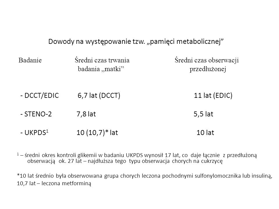 """Dowody na występowanie tzw. """"pamięci metabolicznej"""