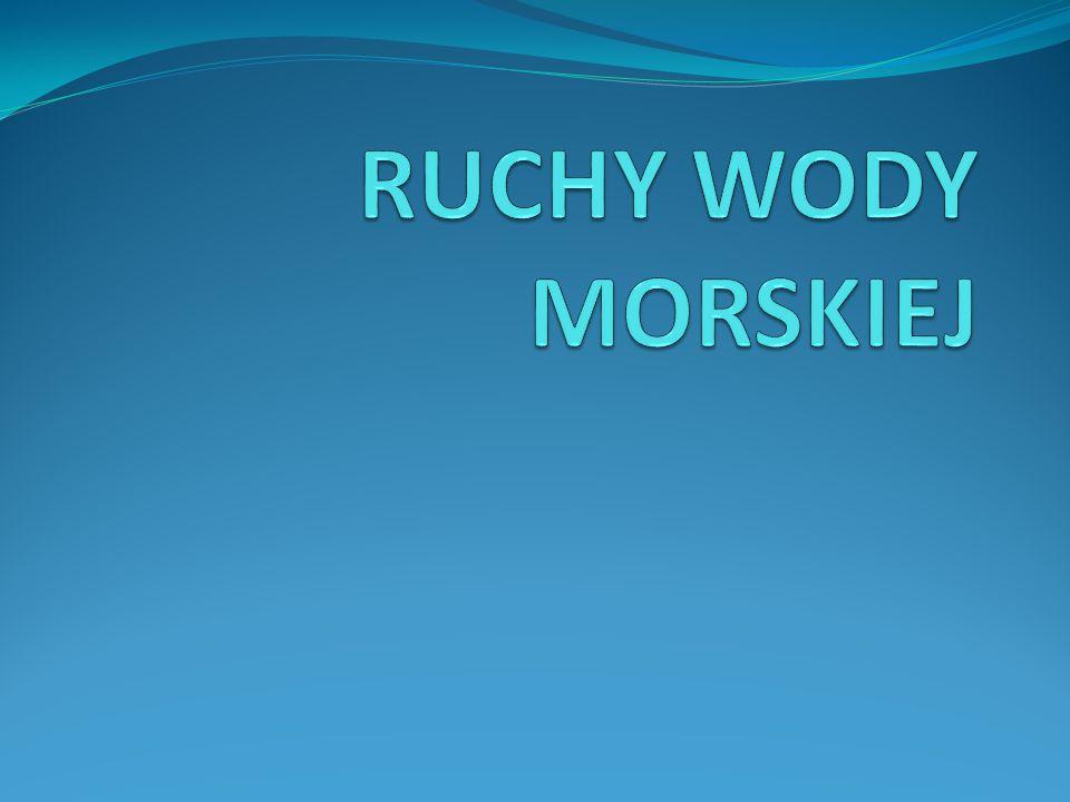 RUCHY WODY MORSKIEJ