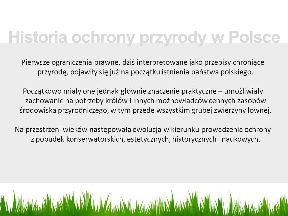Historia ochrony przyrody w Polsce