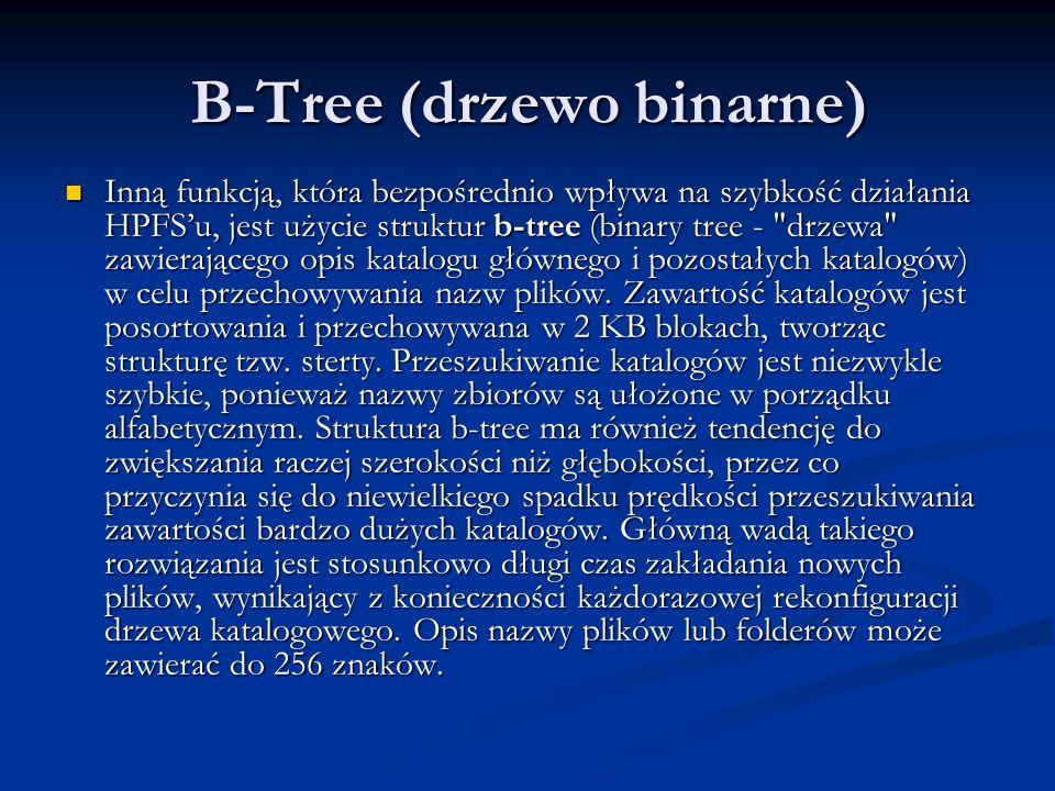 B-Tree (drzewo binarne)