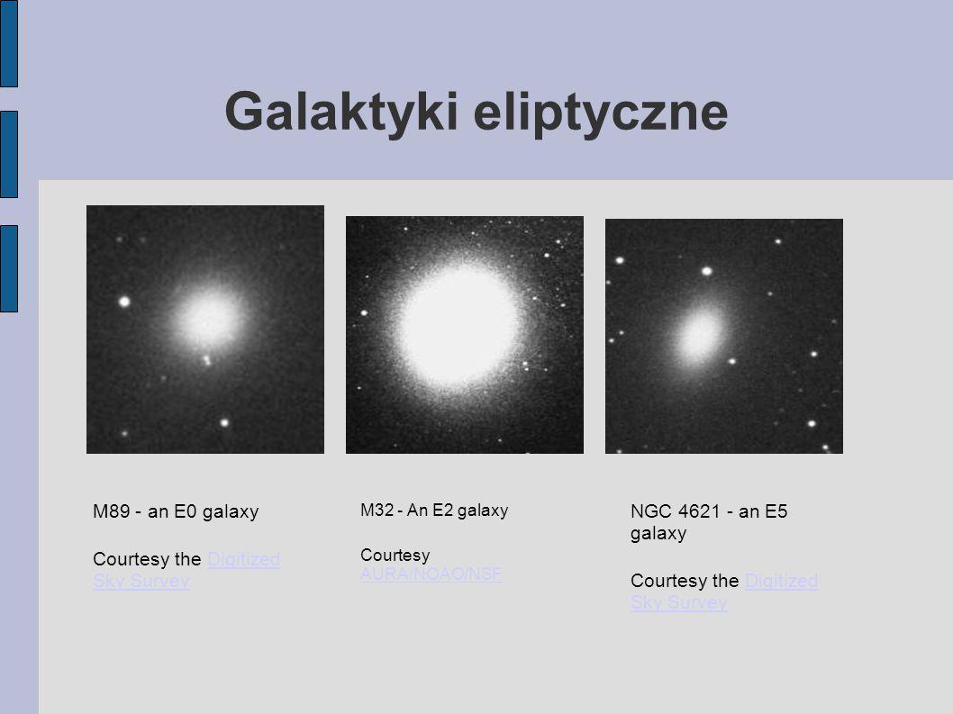 Galaktyki eliptyczne M89 - an E0 galaxy