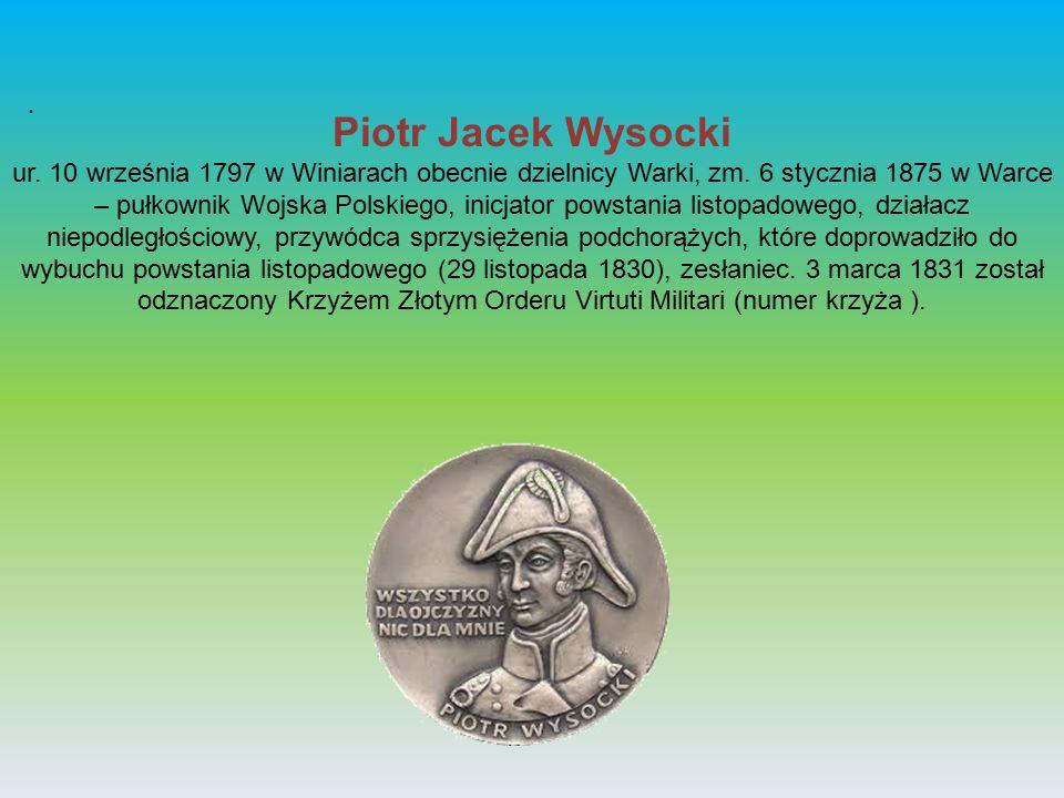 . Piotr Jacek Wysocki.