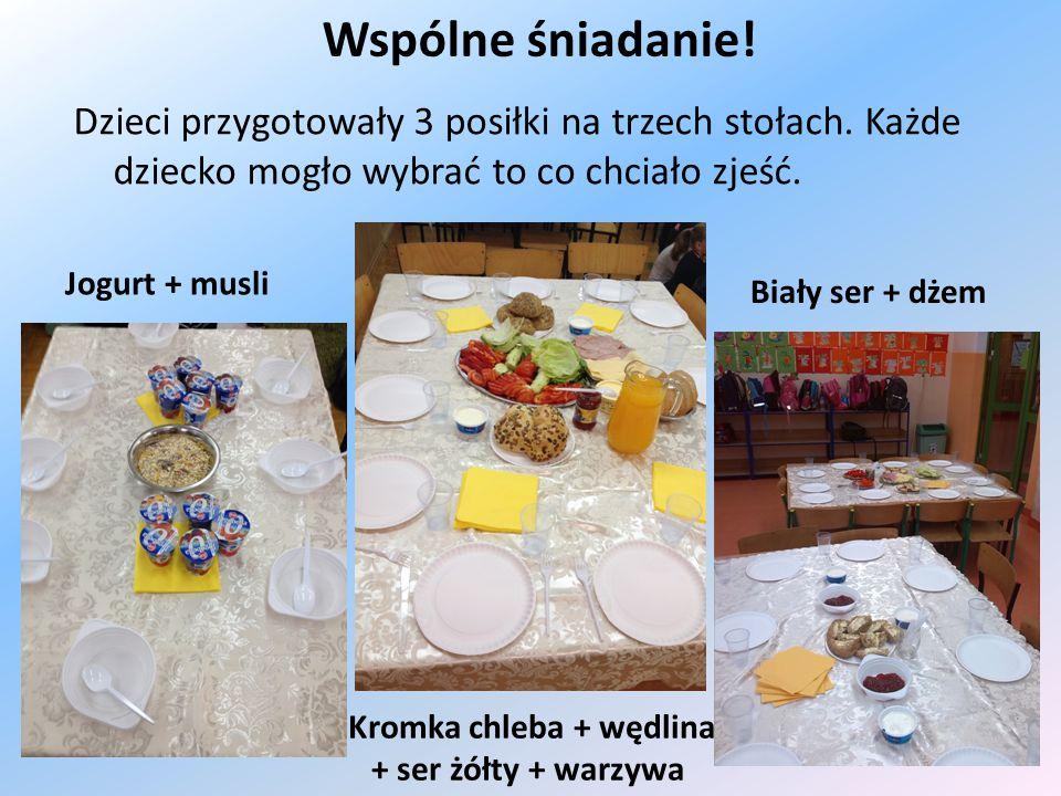 Kromka chleba + wędlina + ser żółty + warzywa