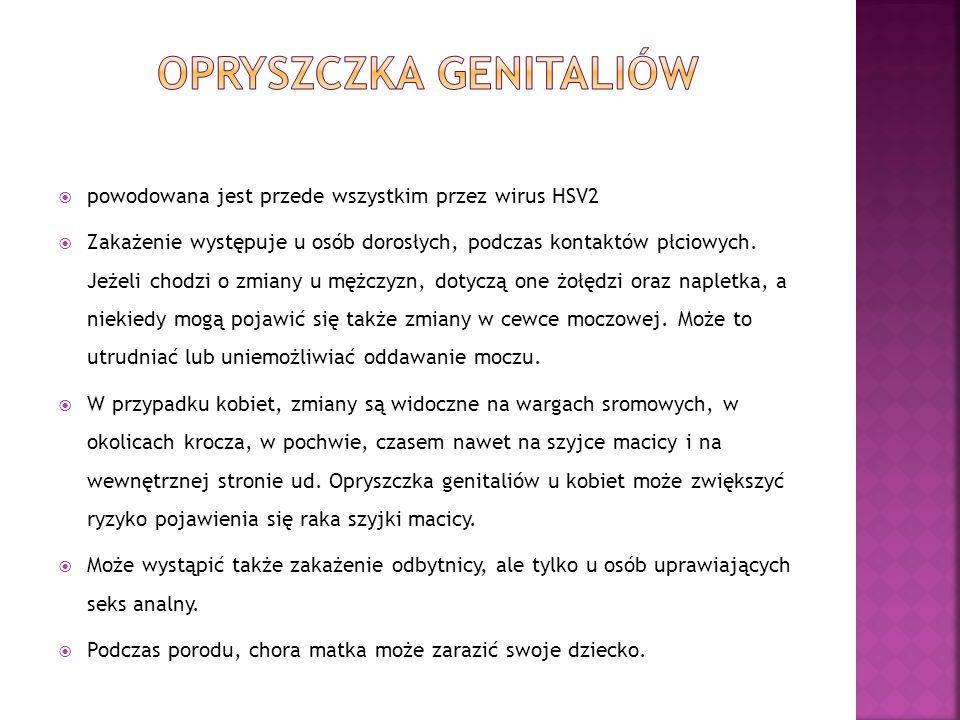 Opryszczka genitaliów