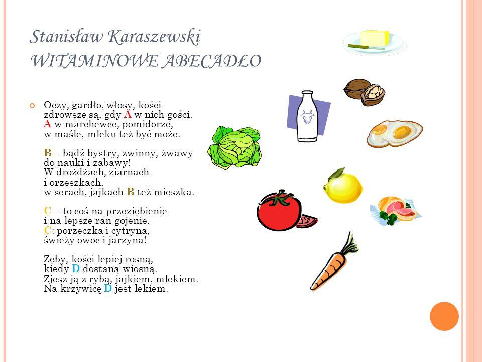 Stanisław Karaszewski WITAMINOWE ABECADŁO