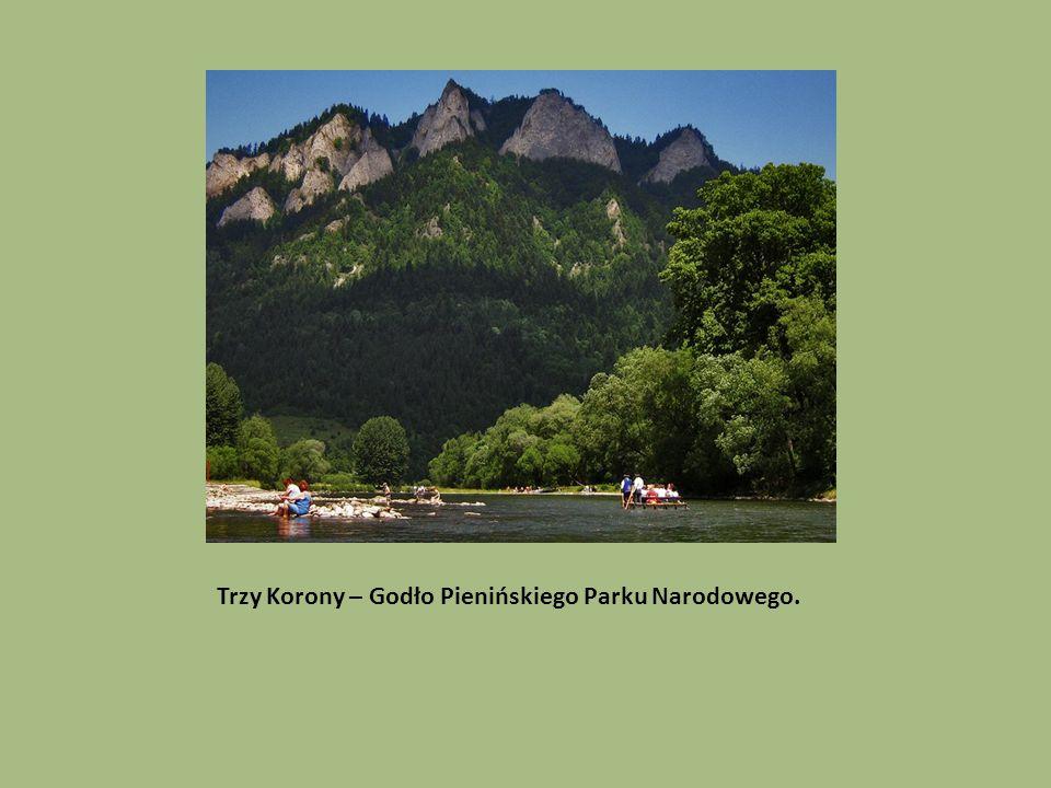Trzy Korony – Godło Pienińskiego Parku Narodowego.
