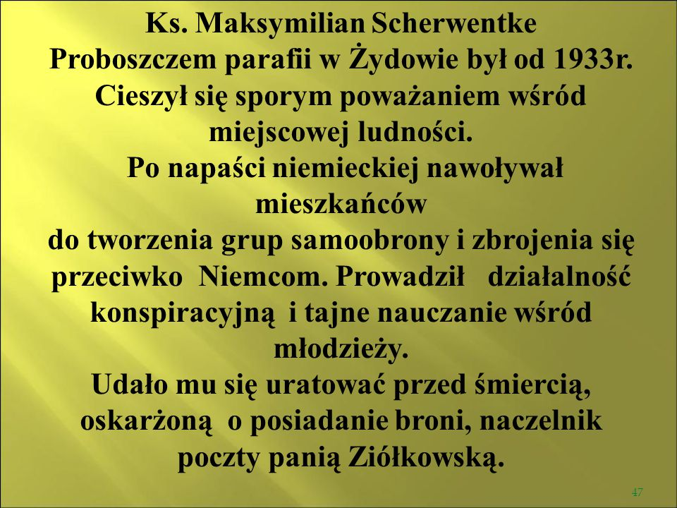 Ks. Maksymilian Scherwentke