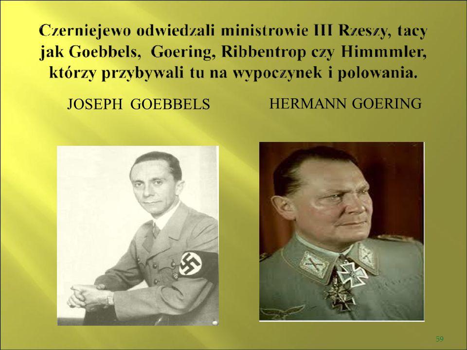 JOSEPH GOEBBELS HERMANN GOERING 59