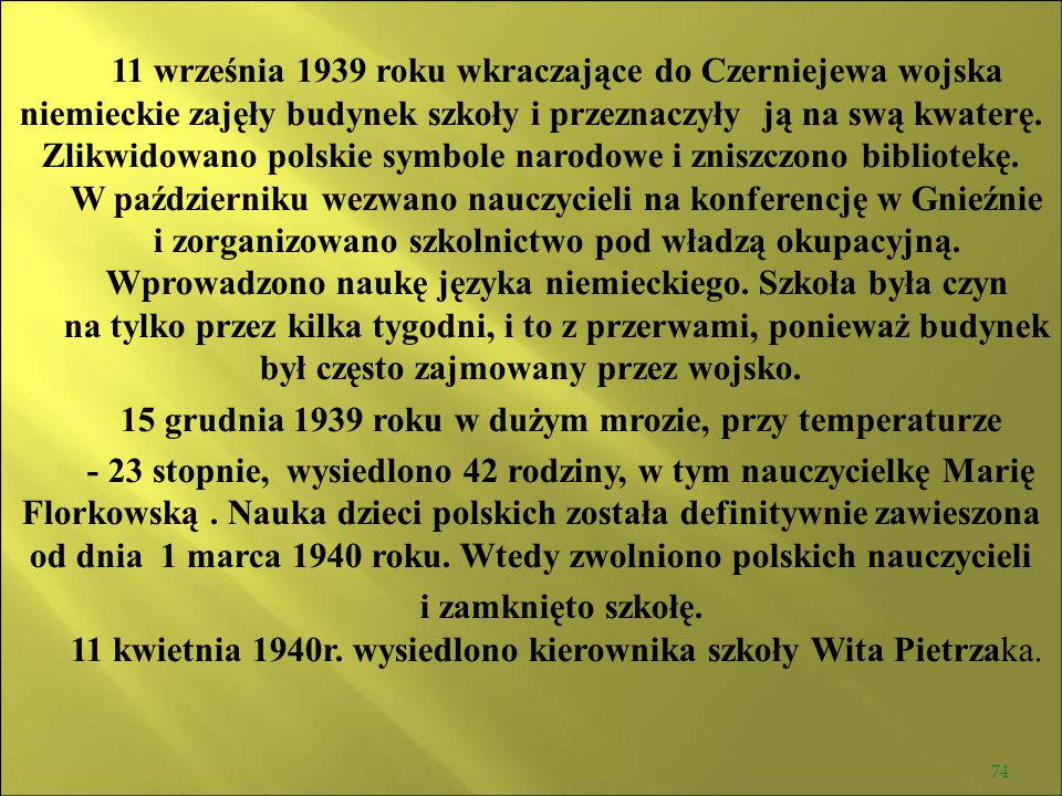 W październiku wezwano nauczycieli na konferencję w Gnieźnie