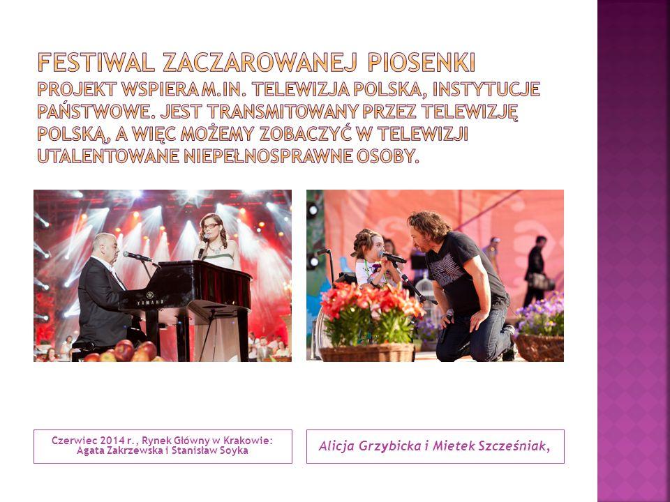 Alicja Grzybicka i Mietek Szcześniak,