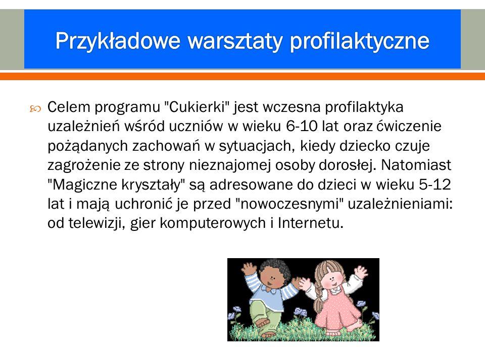Przykładowe warsztaty profilaktyczne