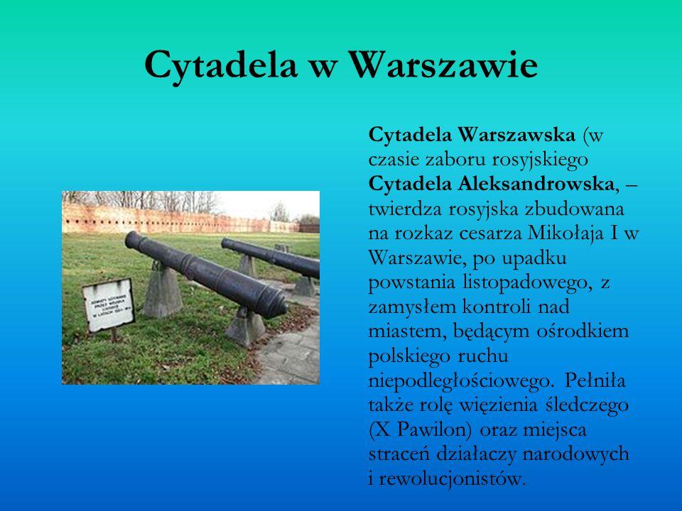 Cytadela w Warszawie