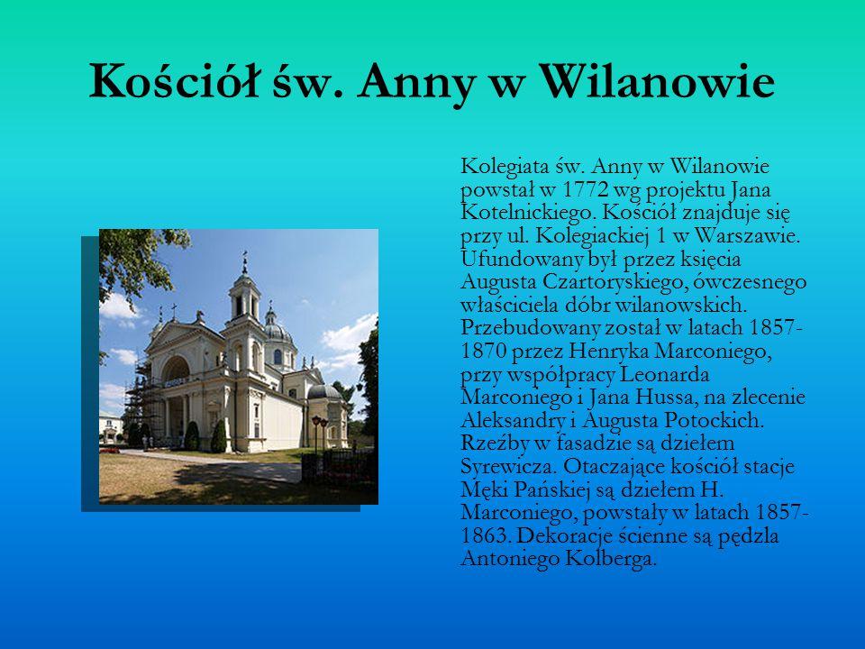 Kościół św. Anny w Wilanowie