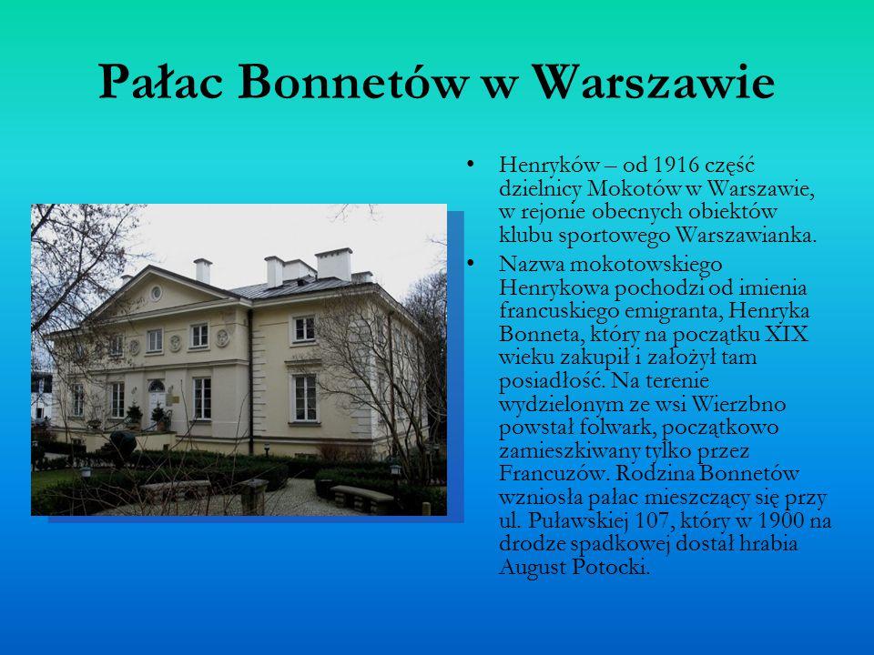 Pałac Bonnetów w Warszawie
