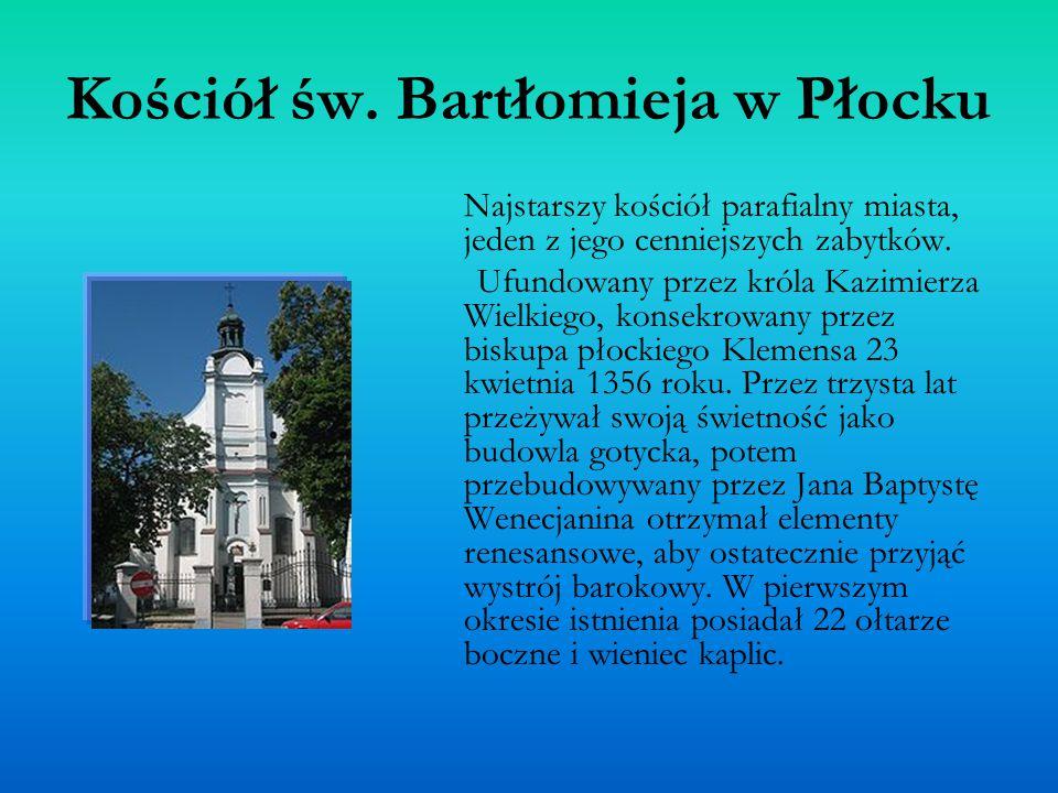 Kościół św. Bartłomieja w Płocku