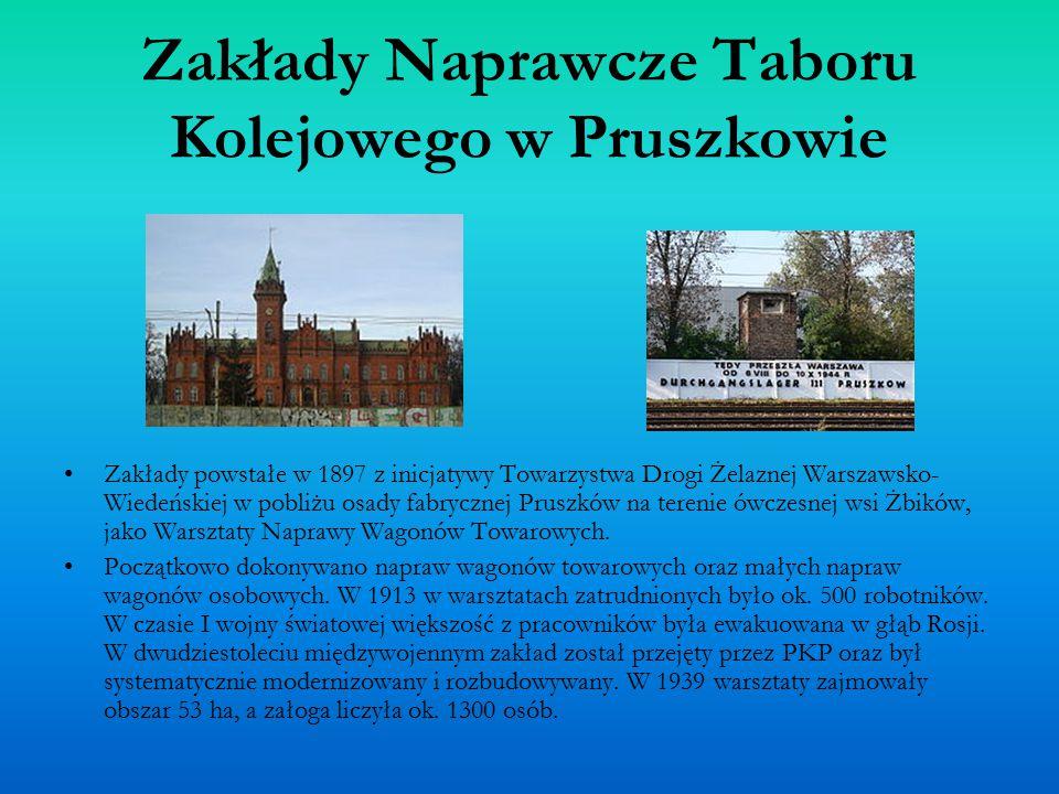 Zakłady Naprawcze Taboru Kolejowego w Pruszkowie