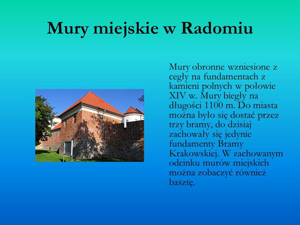 Mury miejskie w Radomiu
