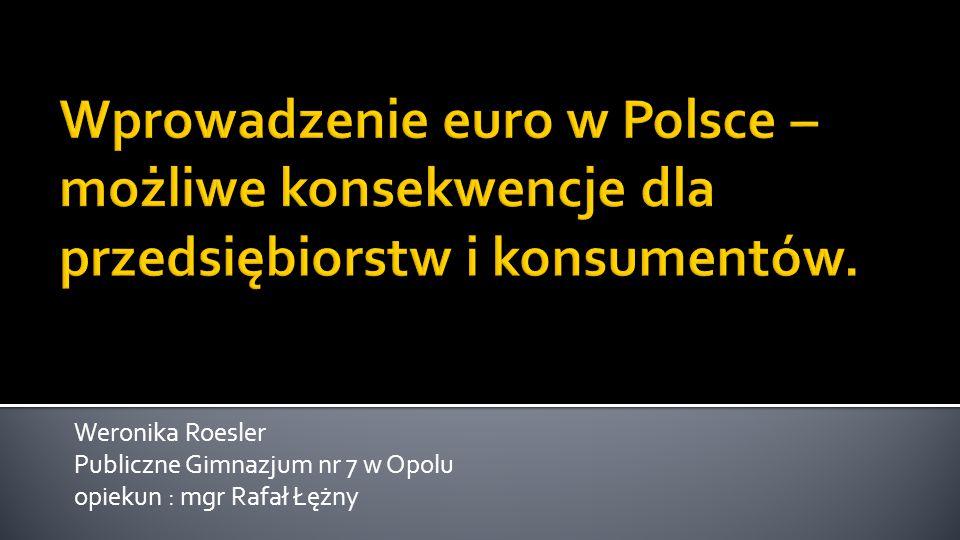 Wprowadzenie euro w Polsce – możliwe konsekwencje dla przedsiębiorstw i konsumentów.