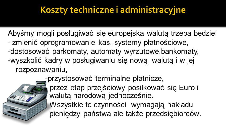 Koszty techniczne i administracyjne