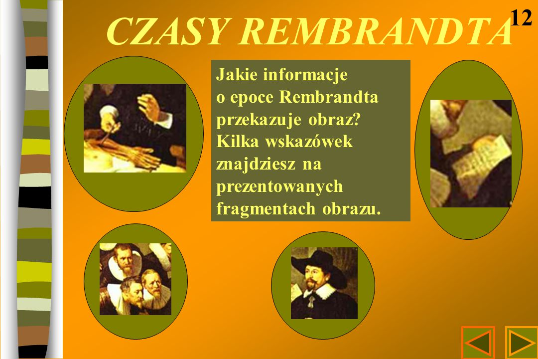 CZASY REMBRANDTA 12.