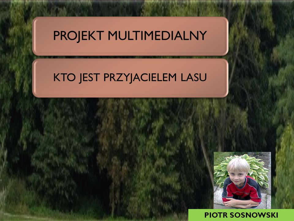 PROJEKT MULTIMEDIALNY