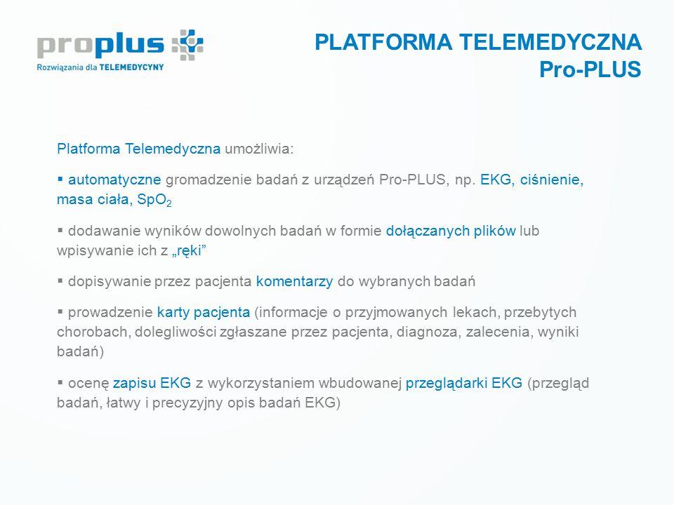 PLATFORMA TELEMEDYCZNA Pro-PLUS