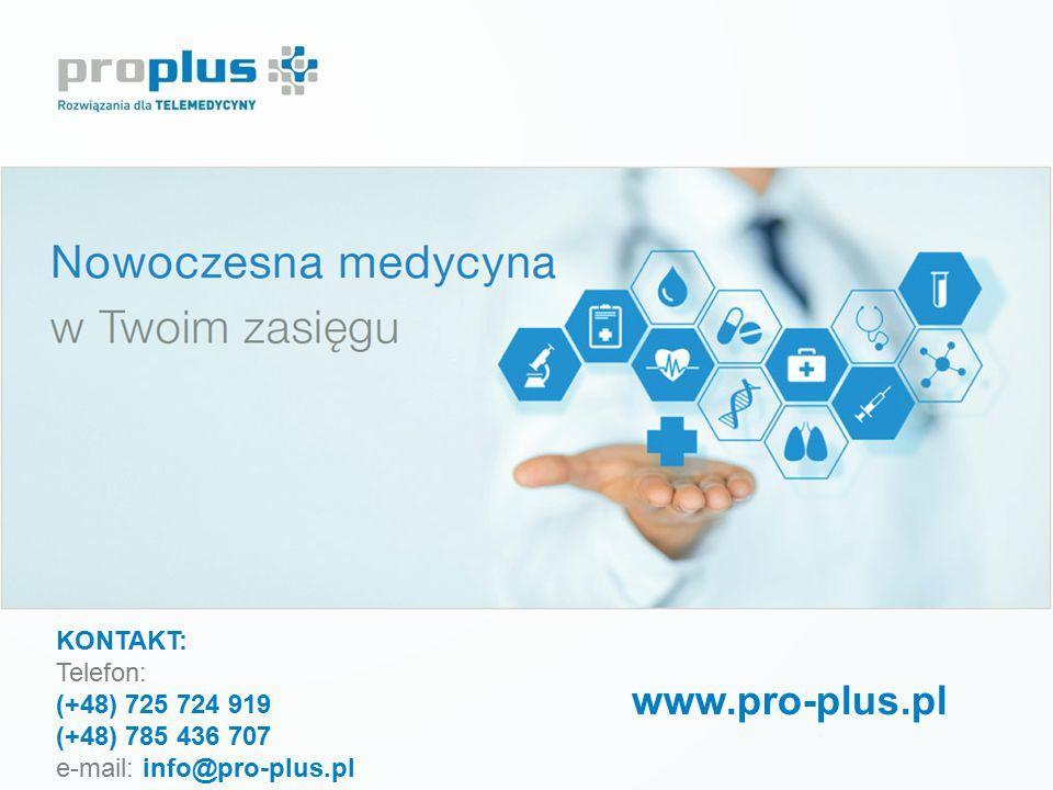 www.pro-plus.pl KONTAKT: Telefon: (+48) 725 724 919 (+48) 785 436 707
