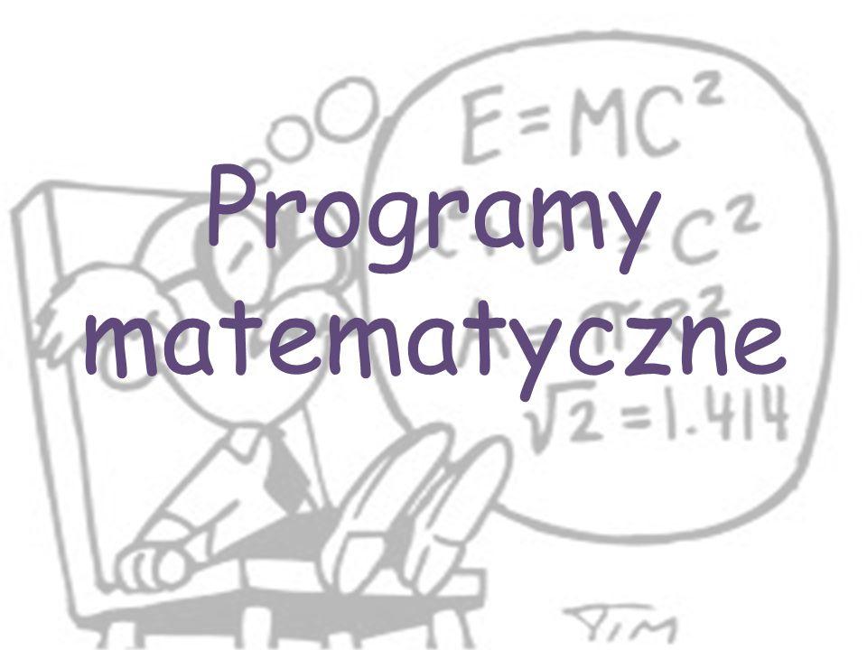 Programy matematyczne