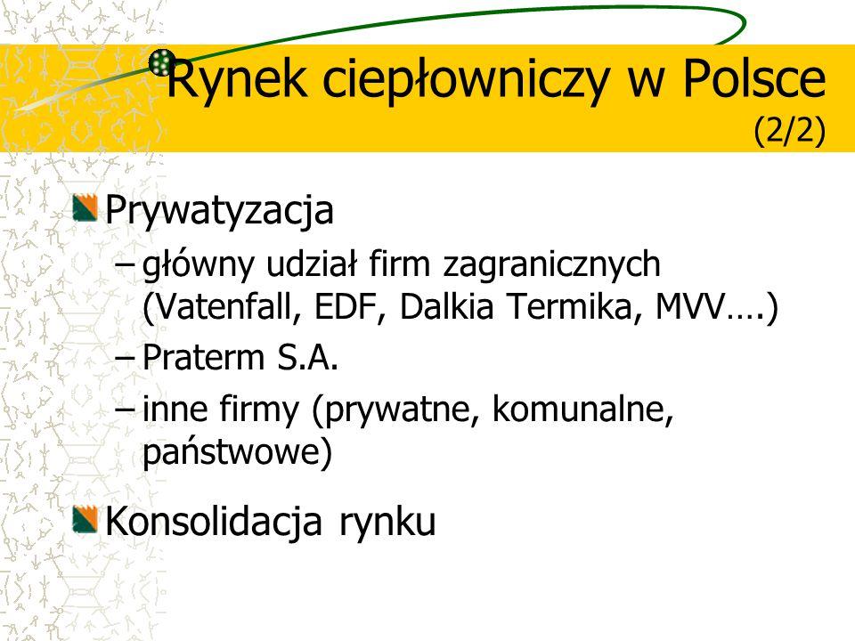 Rynek ciepłowniczy w Polsce (2/2)