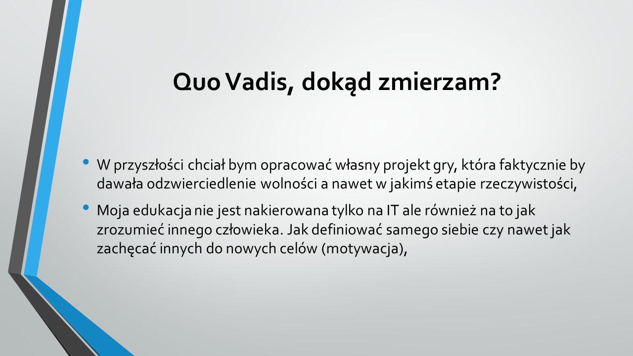 Quo Vadis, dokąd zmierzam