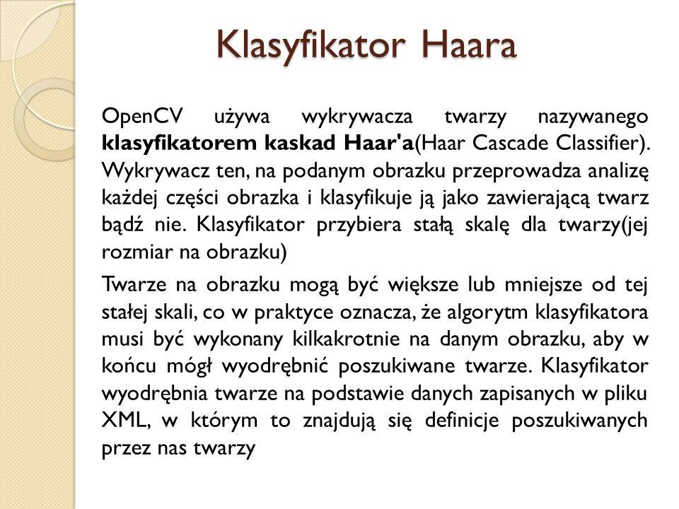 Klasyfikator Haara
