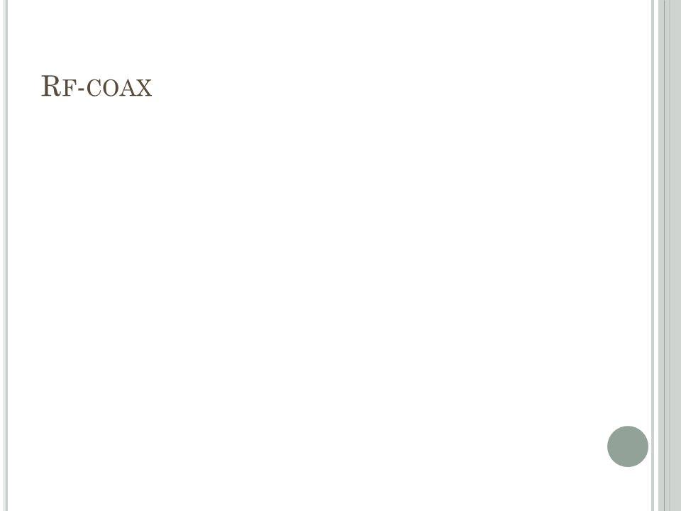 Rf-coax