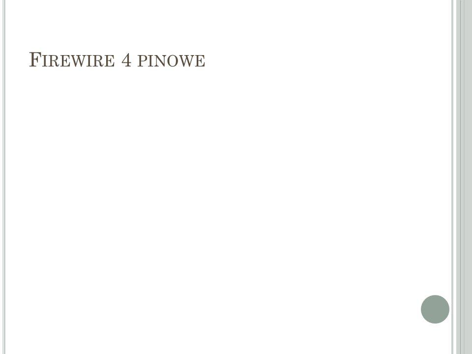 Firewire 4 pinowe