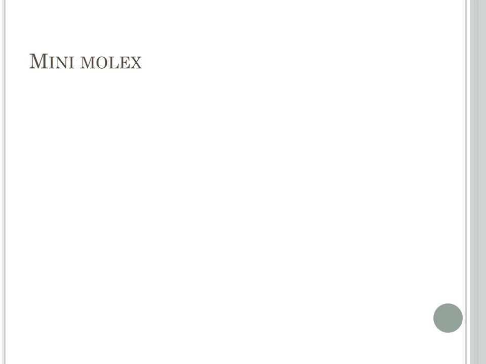 Mini molex