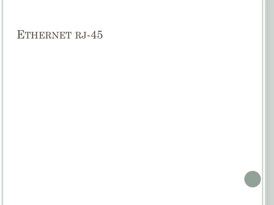 Ethernet rj-45