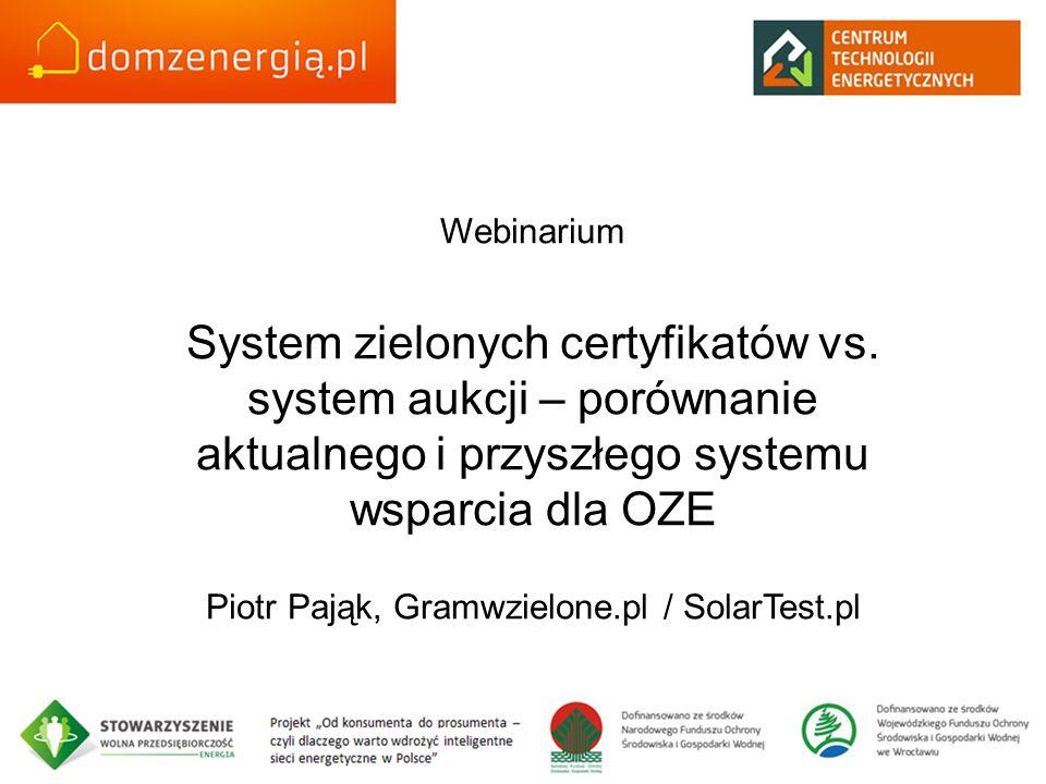 Piotr Pająk, Gramwzielone.pl / SolarTest.pl