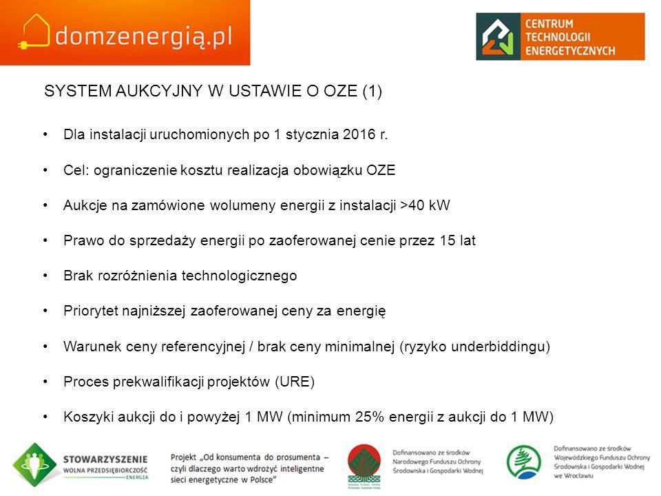 SYSTEM AUKCYJNY W USTAWIE O OZE (1)