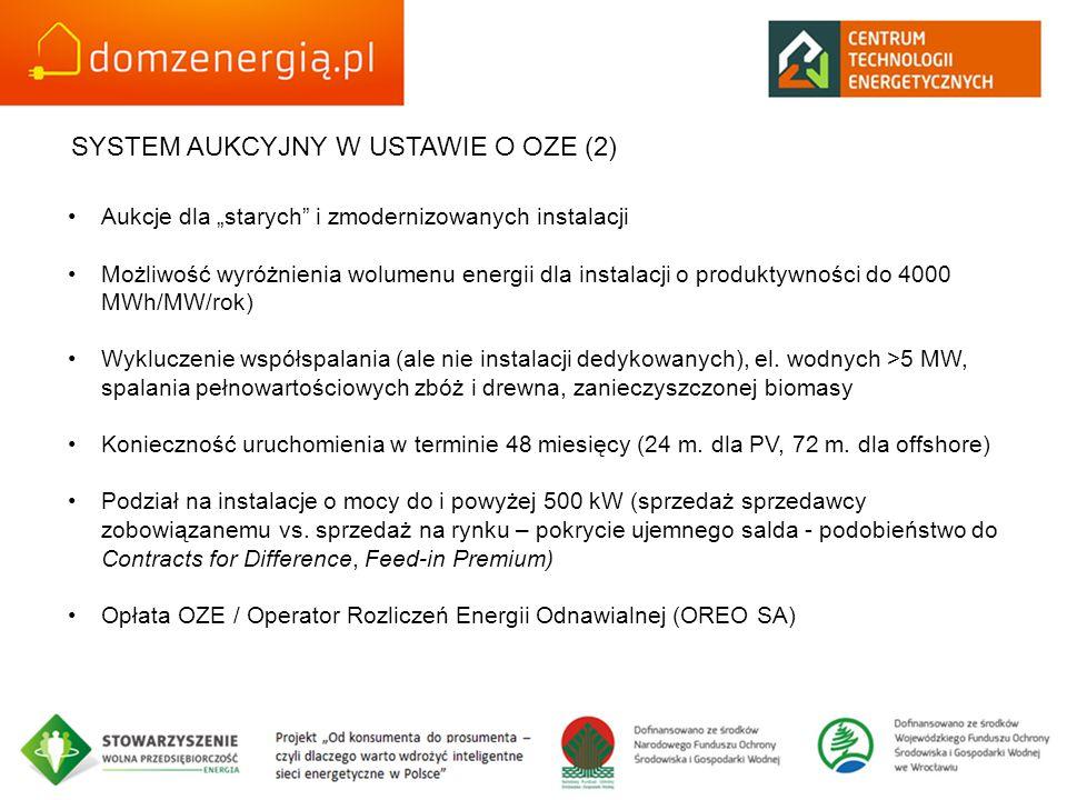 SYSTEM AUKCYJNY W USTAWIE O OZE (2)