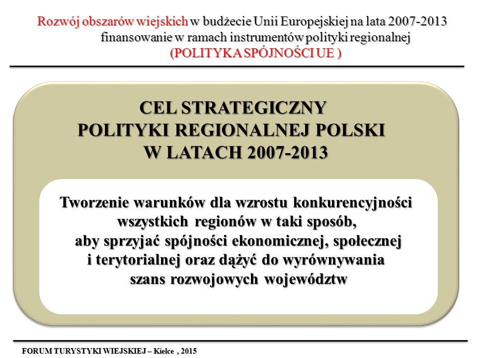 CEL STRATEGICZNY POLITYKI REGIONALNEJ POLSKI W LATACH 2007-2013