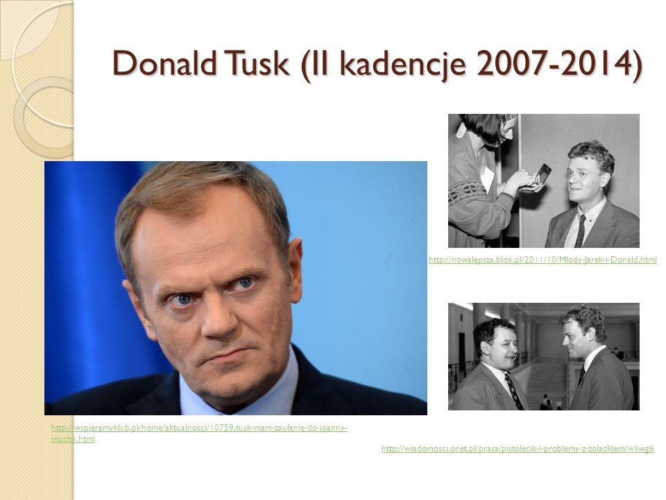 Donald Tusk (II kadencje 2007-2014)