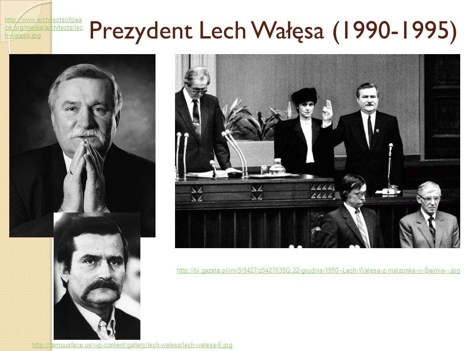 Prezydent Lech Wałęsa (1990-1995)