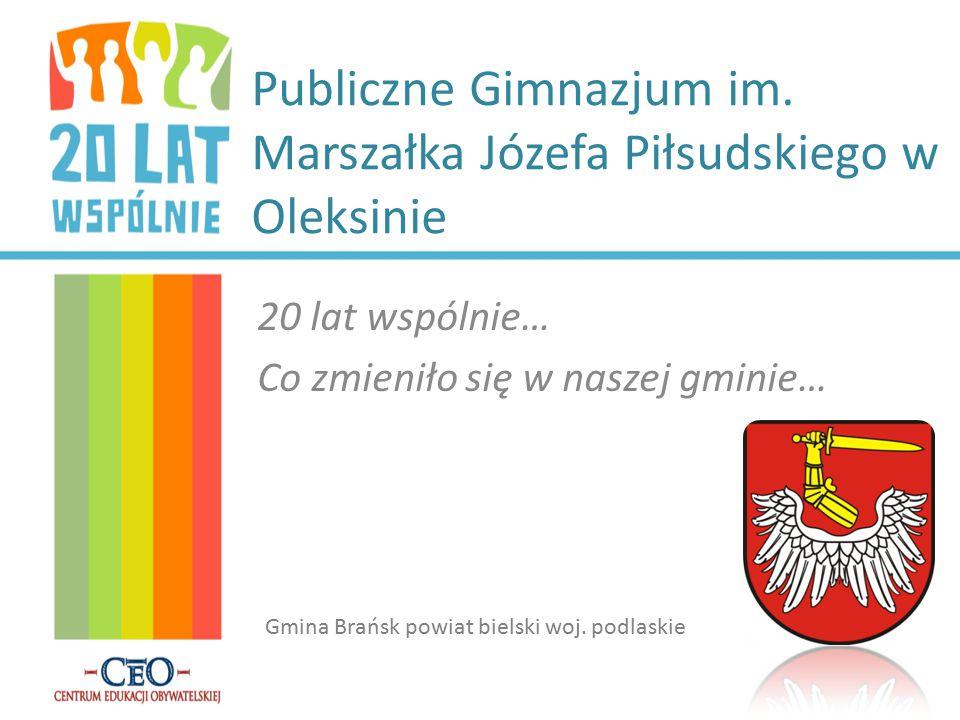 Publiczne Gimnazjum im. Marszałka Józefa Piłsudskiego w Oleksinie