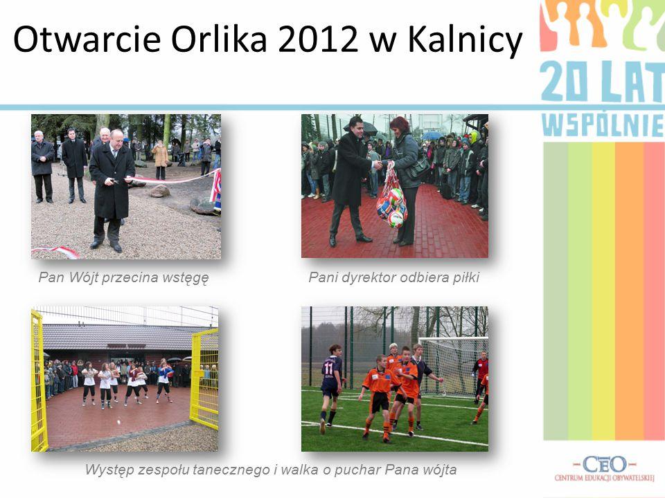 Otwarcie Orlika 2012 w Kalnicy