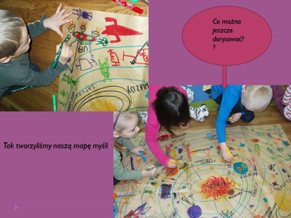 Tak tworzyliśmy naszą mapę myśli