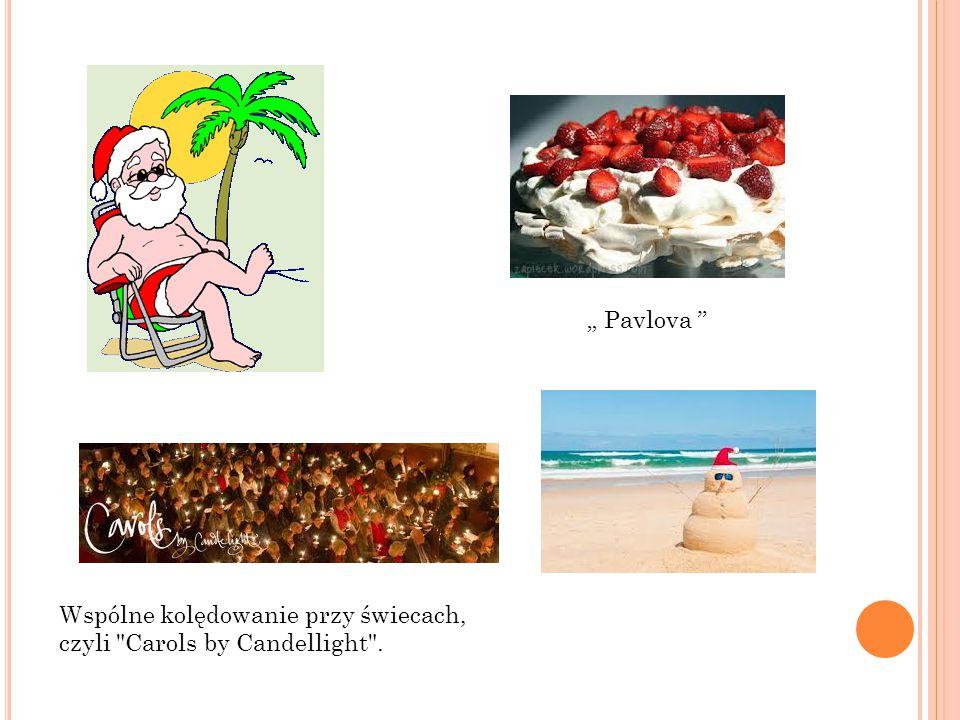 """"""" Pavlova Wspólne kolędowanie przy świecach, czyli Carols by Candellight ."""