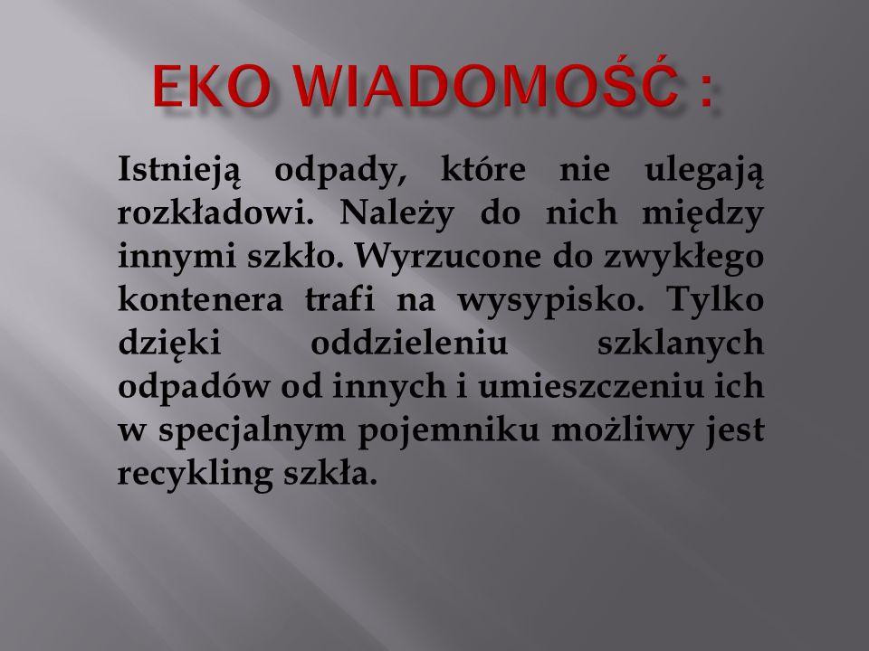 Eko wiadomość :