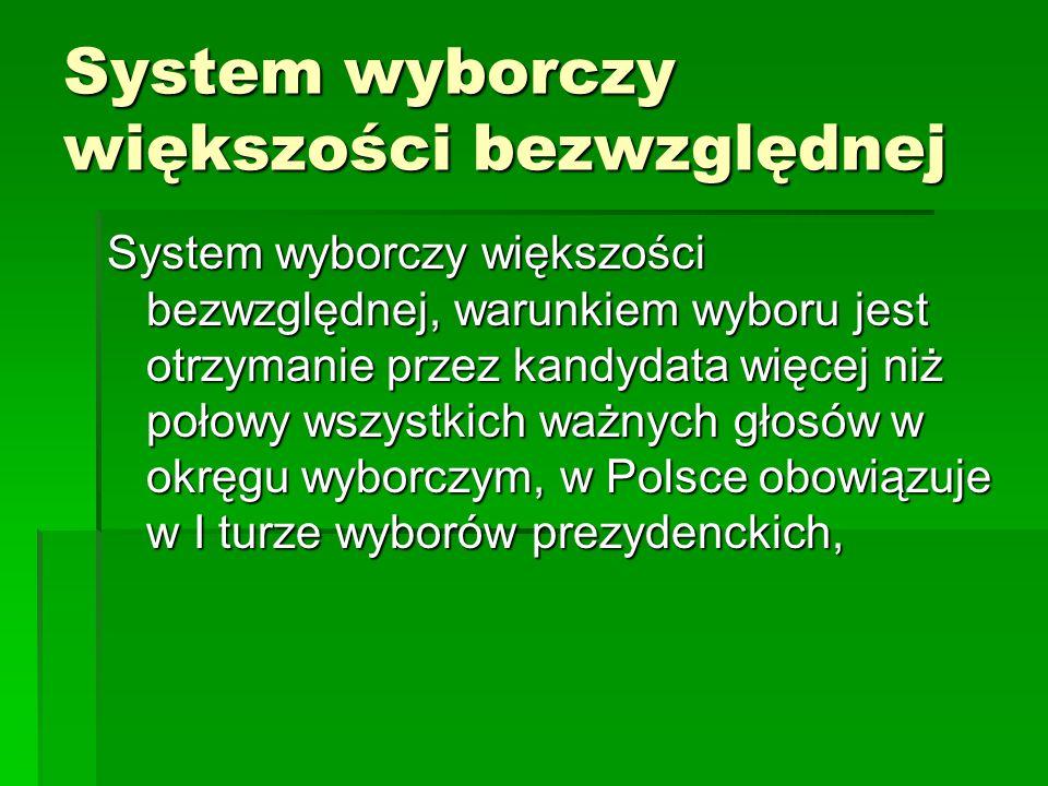 System wyborczy większości bezwzględnej