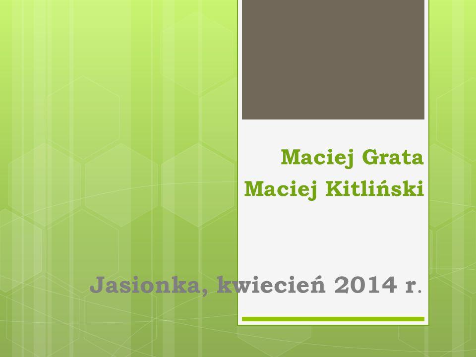 Maciej Grata Maciej Kitliński