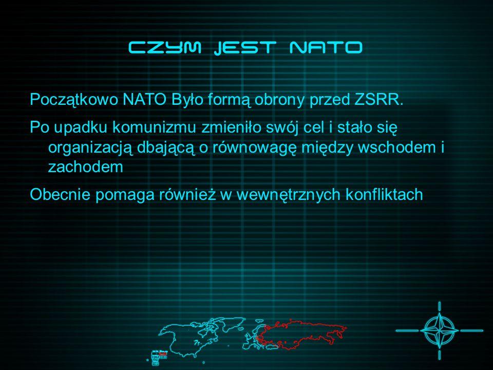 Czym JEsT NATO