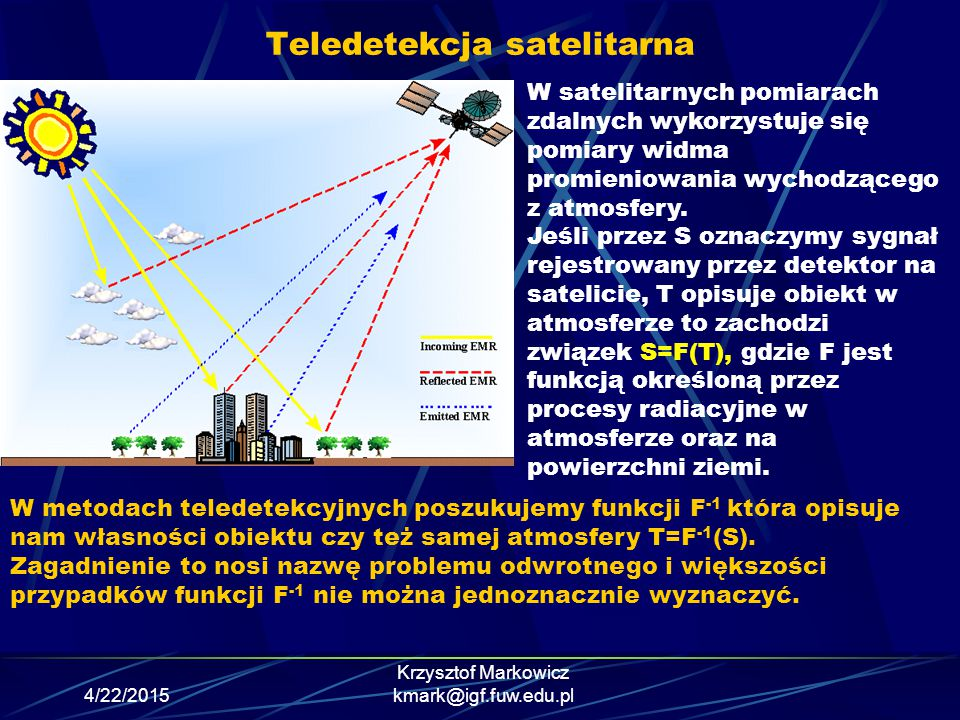 Teledetekcja satelitarna